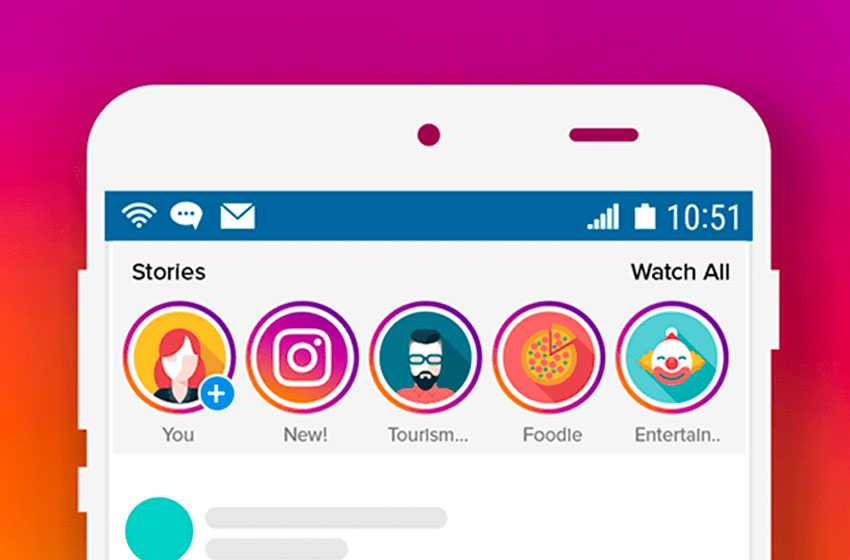 story feature of Instagram