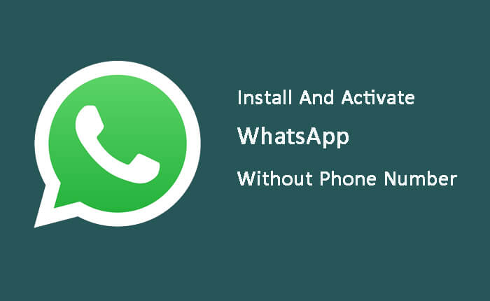 install or activate WhatsApp