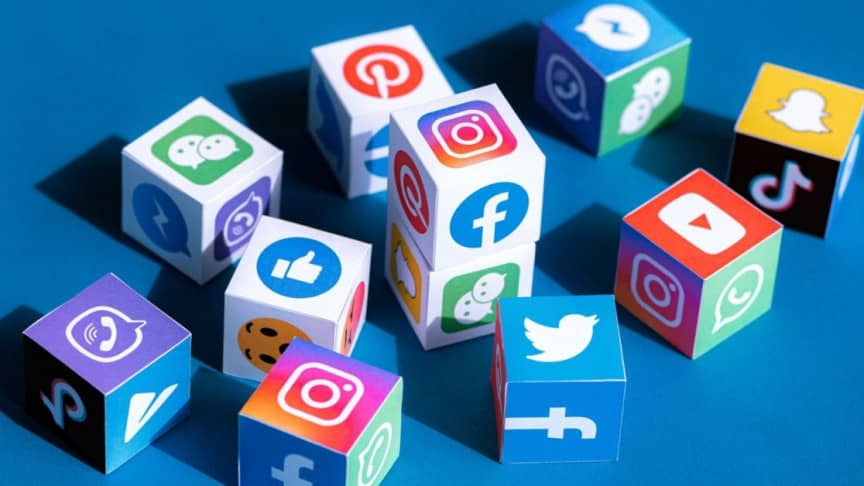 What does social media mean literally?